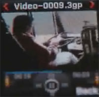 Bus Driver Thinks He Can Drive and Play PSP Simultaneously