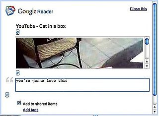 How to Share Anything on the Internet in Google Reader, Whether You are Subscribed to Feeds or Not