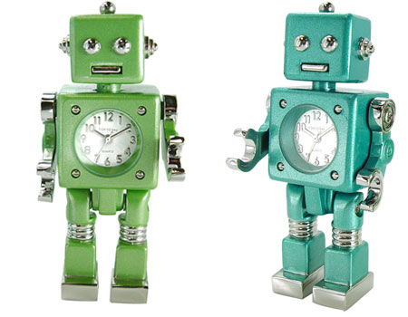 Robot Clock: He'll Solve Your Daylight Savings Time Problems