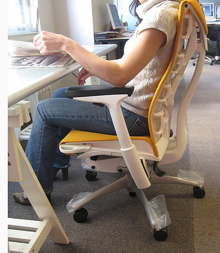 The Herman Miller Embody Chair Feels Good All Over