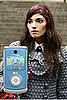 Penelope's Cell Phone on Gossip Girl is the LG Chocolate 3 in Light Blue