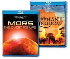 Discovery Channel Blu-ray Discs 2 for $30