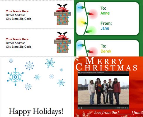 Have Some Holiday Fun With Google Docs