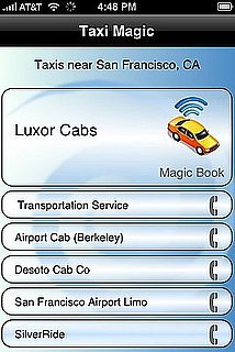 City Dwellers Rejoice: Taxi Magic iPhone App