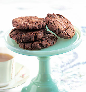 Unlike regular oatmeal cookies, these Dark Chocolate Oatmeal Cookies are chocolate cookies with a bit of an oatmeal crunch.