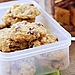 Why have one when you can have two? Discover the recipe for these Bite-Size Oatmeal Cookies. They suggest dried cherries or blueberries in lieu of raisins and I couldn't agree more!