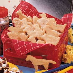 Create a heartier version of the classic children's treat by making Oatmeal Animal Crackers!