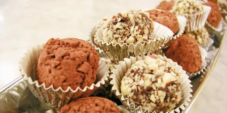 Get a Recipe for Ice Wine Chocolate Truffles