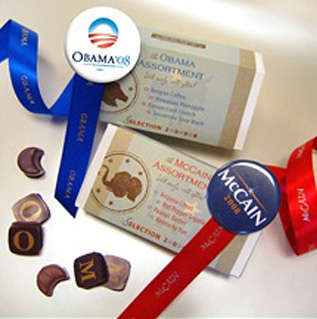 L.A. Burdick Campaign Chocolates