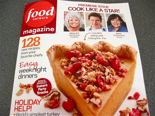 Food Network Magazine Doesn't Break New Ground