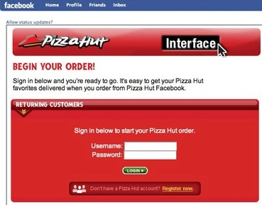 Would You Order Pizza on Facebook?