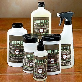 Mrs. Meyer's Household Pet Cleaning Supplies ($6-$8)
