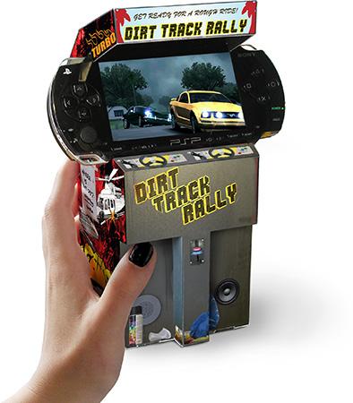 Cardboard Mini Arcade