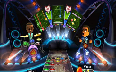 Guitar Hero World Tour Incorporates Your Mii's in Freestyle Mode