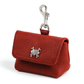 Red Leash Accessory Bag ($70)