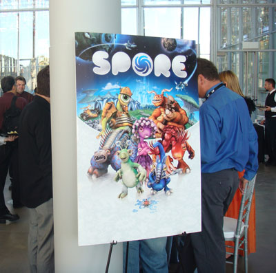 It's Party Time: The Spore Launch Event