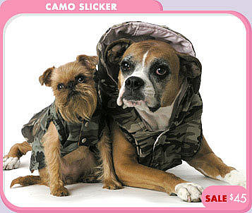 Camo Slicker SALE $45