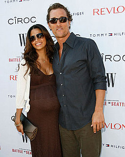 It's A Boy For Matthew McConaughey and Camila Alves!