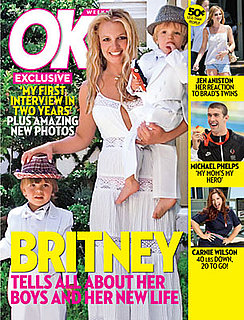 Britney Spears OK Magazine Cover and Interview, The First in Two Years