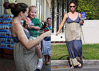 Photos of Pregnant Jennifer Garner With Violet Affleck Preparing for Ben Affleck's Birthday