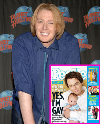 "Clay Aiken Proclaims on People: ""Yes, I'm Gay"""