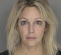Heather Locklear Arrested for DUI, Heather Locklear's Mugshot