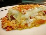 Chicken and Butternut Squash Lasagne