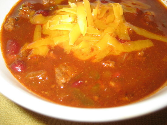 Sweet and Spicy Chili