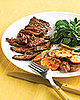 Fast &amp; Easy Dinner: Skirt Steak With Crispy Garlic Potatoes