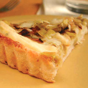 Fast & Easy Dinner: Leek, Potato, and Fontina Tart