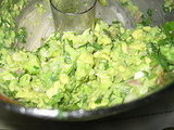 This guacamole recipe was based on ingredients I had in my fridge.