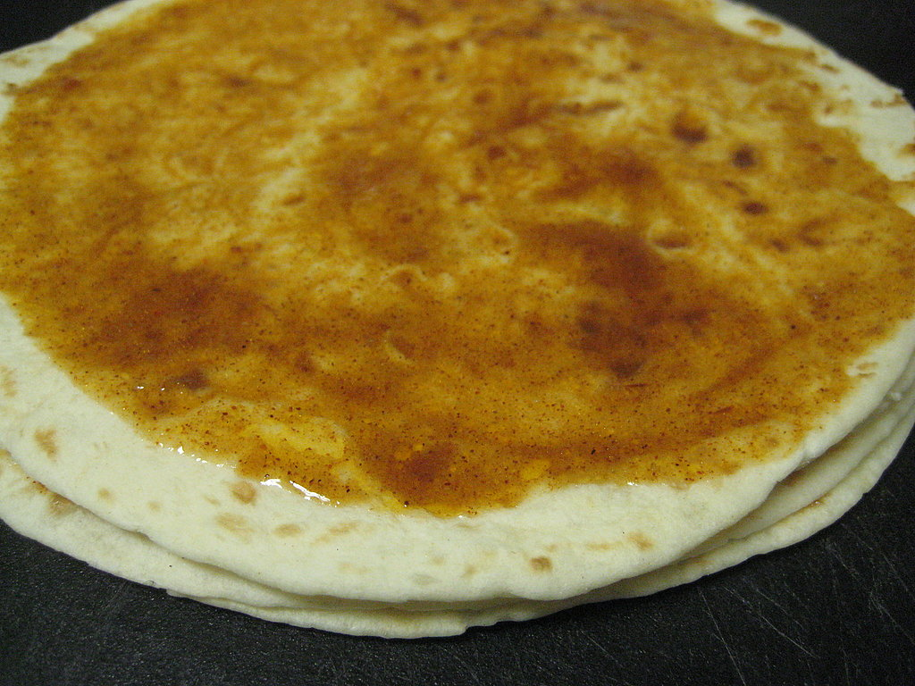 Three tortilla, four!
