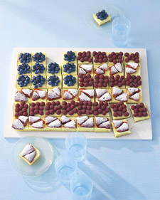 Show Your Patriotic Pride with a Flag Cake!