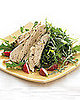Fast &amp; Easy Dinner: Chicken with Lemon Over Arugula
