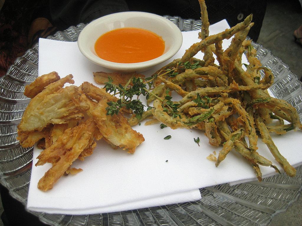 The Food: Fried Veggies