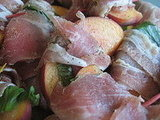 Pancetta Wrapped Peaches