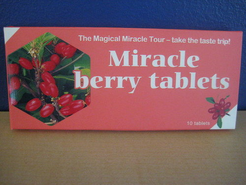 Taste Test: Miracle Berry Tablet