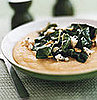 Fast &amp; Easy Dinner: Polenta With Chard