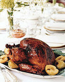 Slow-Smoked Turkey With Cane Syrup-Coffee Glaze