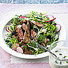 Fast & Easy Dinner: Herbed Lamb Steak Salads
