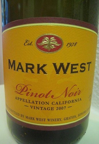 Happy Hour: 2007 Mark West Pinot Noir
