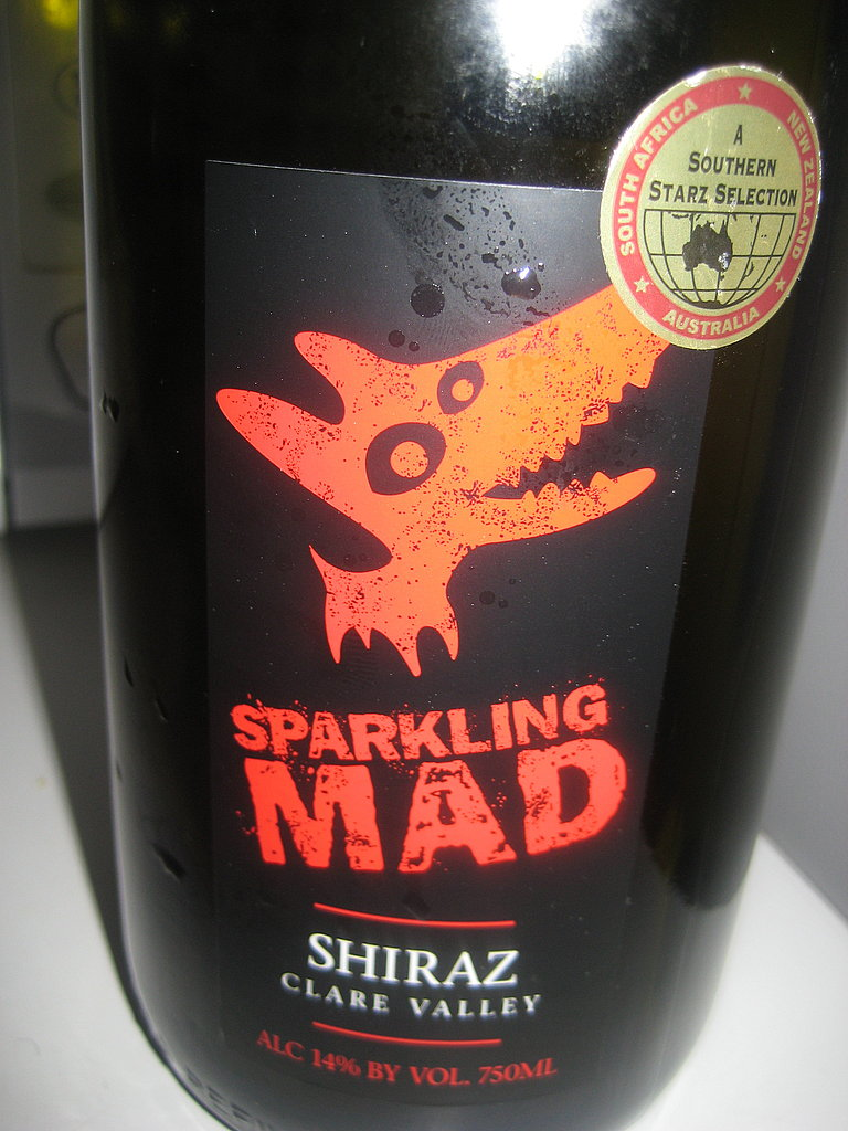 Sparkling Shiraz Punch