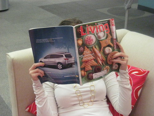 Where Do You Read Food Magazines?