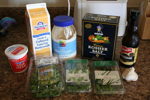 Dinner Challenge #7 - PW's Homemade Ranch Dressing and Spicy Mac and Cheese
