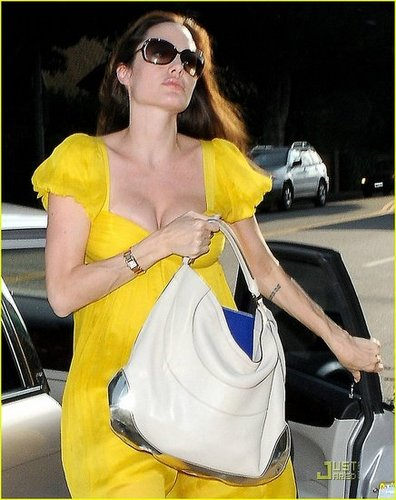Angelina is a Vision in Yellow
