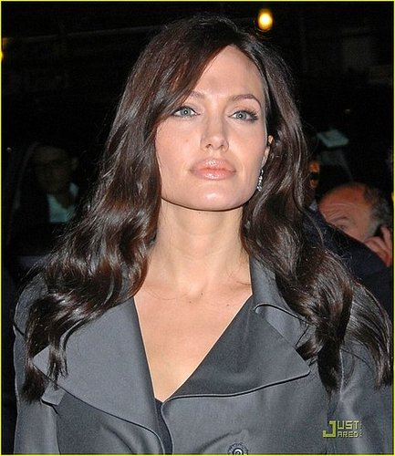 Angelina is Beautiful at a Dinner Party in the Big Apple