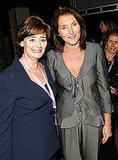 Cherie Blair and Cecilia Maria Attias