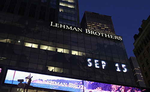 Biggest News Story: Lehman Brothers Files For Bankruptcy