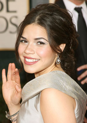 America Ferrera at the 2009 Golden Globes
