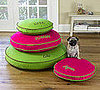 Online Sale Alert! Pottery Barn Twill Round Dog Bed